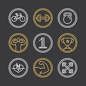 Vector Crossfit Logos And Emblems