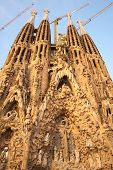 Sagrada Familia, The Cathedral Designed By Antoni Gaudi