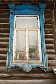 Old Russian Window Frame