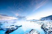 blue lagoon near Reykjavik, Iceland