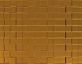 Abstract Golden Three-dimensional Background