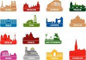 Symbols european city
