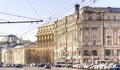 City Of Moscow. National Hotel