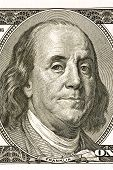 Benjamin Franklin On Hundred Dollar Bill