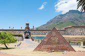 Powder Magazine In Front Of The Castle Of Good Hope In Cape Town,