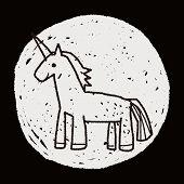 pic of unicorn  - Unicorn Doodle - JPG
