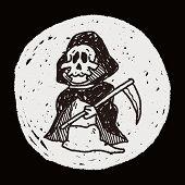 foto of grim-reaper  - Grim Reaper Doodle - JPG