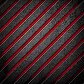 pic of crude  - crude metal with striped pattern - JPG