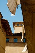 image of marquise  - View on the street of Palma de Mallorca - JPG