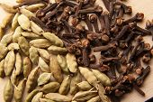 stock photo of cardamom  - Oriental spice - JPG