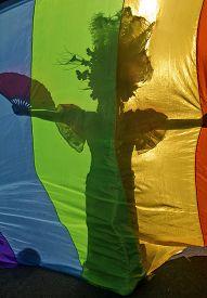 stock photo of transgendered  - SAO PAULO BRAZIL  - JPG
