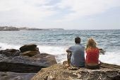 Couple At Manly Beach