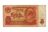 Ten roubles of USSR