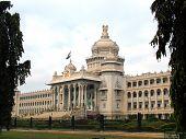 stock photo of vidhana soudha  - vidhana saudha - JPG