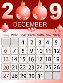 Calendars, New Year 2009, December