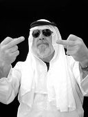 The Sheik Flips Us Off