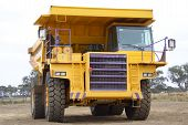 Mining Truck Front