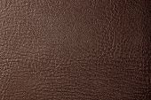 Close up brown leather picture for background