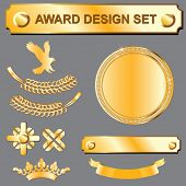 conjunto de design Award