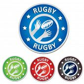 rugby badge