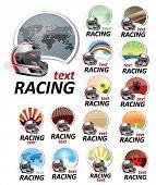 Satz von Zeichen racing