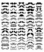 mustaches poster