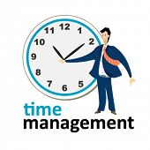 time management sign