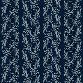 blue wallpaper pattern