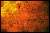 Vintage marco de fondo abstracto