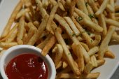 French Fries and Catsup Ketchup
