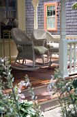 foto of cape-cod  - Rocking Chairs on a Martha - JPG