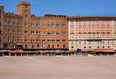 Piazza In Siena, Tuscany