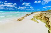 Gorgeous Natural Landscape View Of Santa Maria Cuban Island, Tropical Beach, Gorgeous Inviting Stunn poster