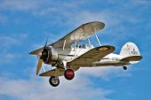 Old military biplane