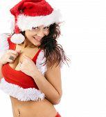 Lovely Christmas Girl