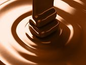 Ribbon of chocolate