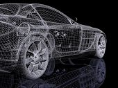 automóvel 3D