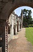 Arched Doorway Ruins