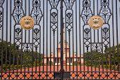 Rashtrapati Bhavan The Iron Gates Official Residence President New Delhi India