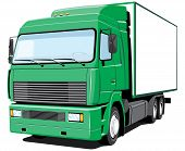 Truck cargo/delivery. My own truck design.