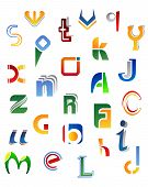 Full Alphabet Symbols