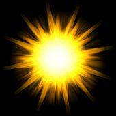 Solar Star Burst