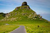 Castle Rock in the Valley of Rocks Lynton