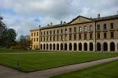 stock photo of magdalene  - Classic architecture of Oxford Magdalen college - JPG