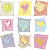 Several hearts