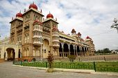 Royal Palace At Mysore. India.