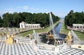 Grand Cascade Fountains of Peterhof Palace