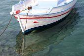Moored Boat Detail
