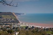 View of Sidmouth East Devon England