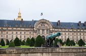 Cannon In Front Of Les Invalides